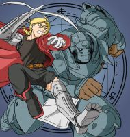 Full Metal Alchemist by Maganius