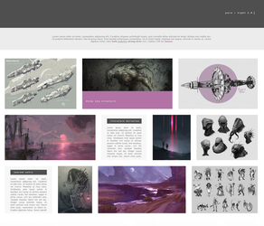 Pure + Night 2.0 Gallery CSS by Gasara