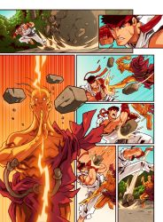 Street Fighter Unlimited Issue 5 - Preview 5 by edwinhuang