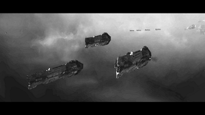 Vaygr Battlecruisers by Krnt