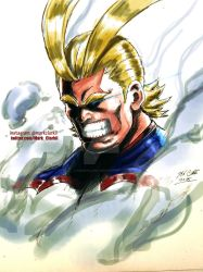 Allmight by Mark-Clark-II