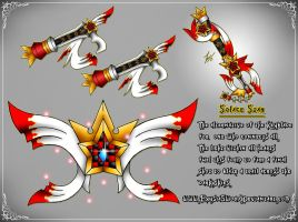 Solace Star Final Keyblade Transformation (2017) by ExusiaSword