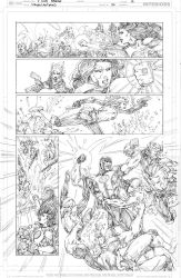 Green Lanterns #42 page 16 PENCIL by vmarion07