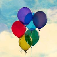 Balloons. by xTive