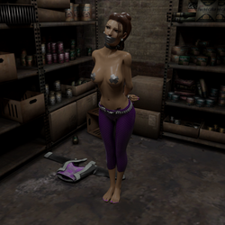Shaundi in a Pantry by TheBlenderTaper