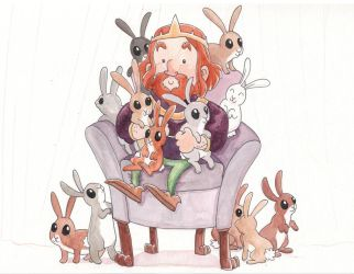 the bunny king by fossick