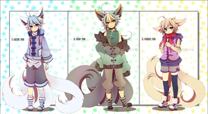 Adoptables AUCTION11: [CLOSED] by Rinslettuce