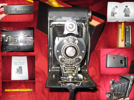 Miskatonic U.    No.2 Folding Autographic Brownie by vonmeer
