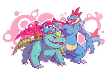 Pokebros by squeedgemonster