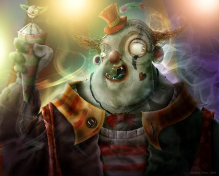 Decadent clown by Beleleu