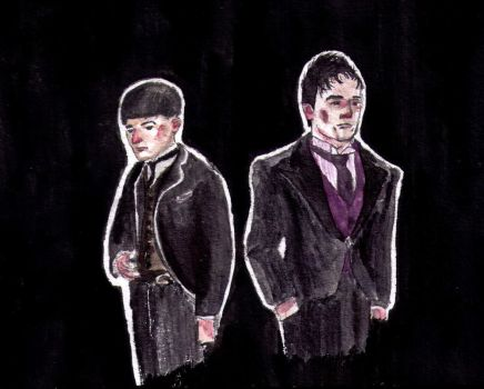 Credence and Penguin by AyvazyanMara