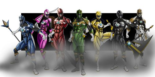 The Rangers by comicartist88