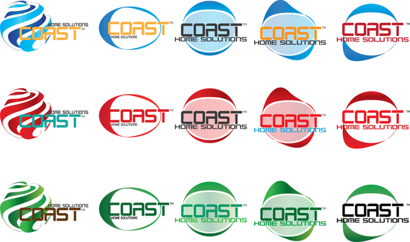 Coast, Logo Concepts w Colors by infinitestudios
