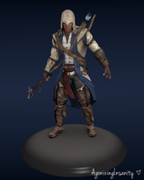 Connor Kenway: Assassin's Creed III by AgonizingInsanity