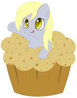 Derpy Hooves by PokuMii