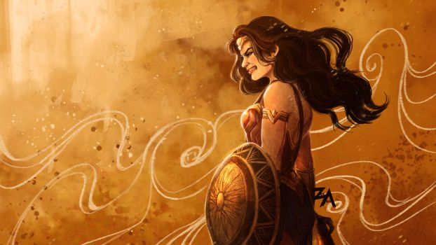 Wonder Woman's Wrath by ZLynn