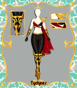 Outfit Adoptable (Auction) #44 CLOSE!!! by Tychees