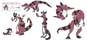 Krookodile Pokedesign