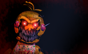 FNAF - NightMare Toy Chica 2.0 + Video by Christian2099