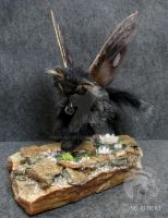 OOAK Fairy Spirit Fox by M-J-Albert