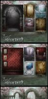 Sweet Amusement Backgrounds by cosmosue