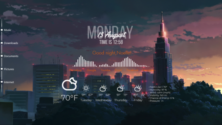 Rainmeter Contest by ohnoelle