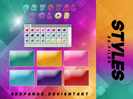Styles 020 // Crystal Color Styles by BEAPANDA