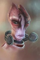 Mass Effect - Mordin Solus by MissPendleton