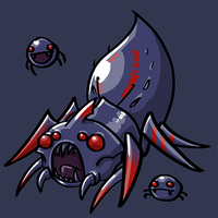 Dota Fanart v2 - Broodmother by KidneyShake