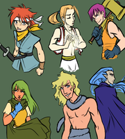 Chrono Trigger - Genderswap by bucketmouse