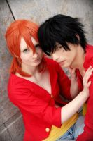 Luffy x Nami (LuNa) by SecondImpactCosplay