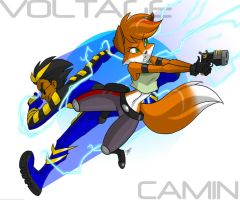 Camin and Voltage by Aeolus06
