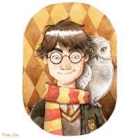 Harry Potter by lauramissaoki