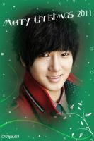Chirtsmas Greeting - Yesung by Ullpaul24