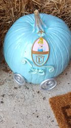 Cinderella Carriage Pumpkin- Halloween 2016 #2 by blah1200