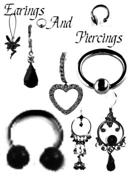 Earings and Piercing Brushes by Grungy6669
