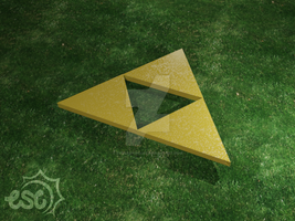 3D Triforce by EmersonWolfe