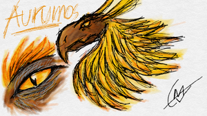 Aurumos the Tyrannocan by imatrashcan2