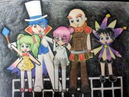 Super Paper Mario Villians Humanised by Peach-X-Yoshi