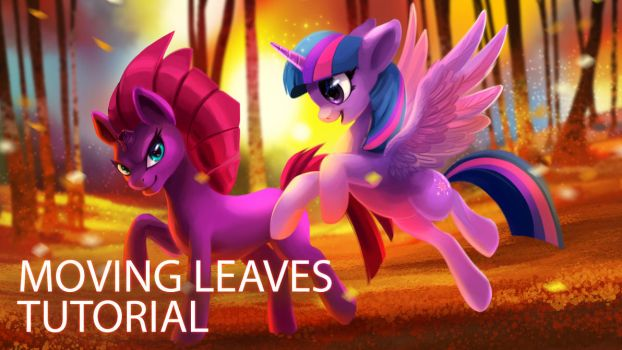 How to Create Blowing Leaves by TsaoShin