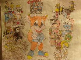 Conkers Bad fur Day by cupcake-man