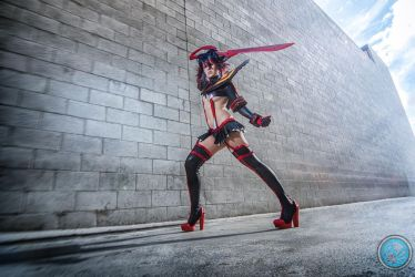 Ryuko Matoi Cosplay: A Can of Whoopass! by Khainsaw