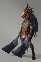 Tribal Hero by Showmeyourmoves