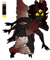 Eldritch Moth Adopt [CLOSED] by tigeeshark