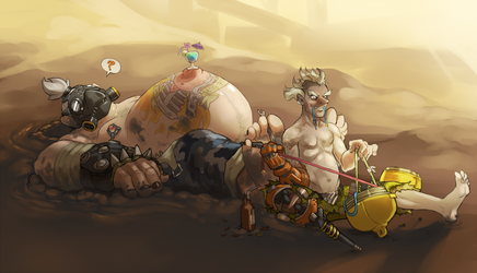 The junkers by SavageDeity