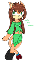 Leafa The Lioness. by TheSonicFreak321