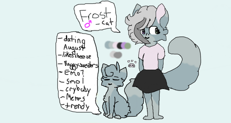 frOst my gay furry 8w8 by Frost-the-Fry