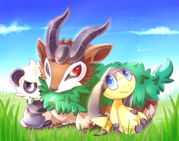 Gogoat, Elikiteru and Yancham
