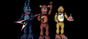Unwithered Animatronics models by FreddyFredbear