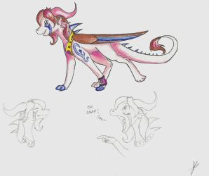 Dragon adopt 4 CLOSED by StarFire-Adopts